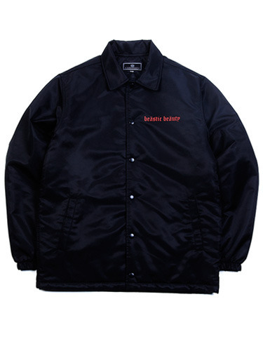 FLAME FONT COACH JACKET