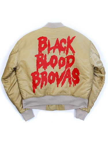 BLACK BLOOD BROVAS MA-1 [BEIGE]
