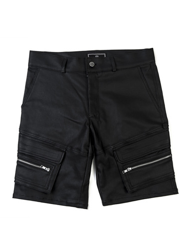 COATED DOUBLE POCKET SHORTS