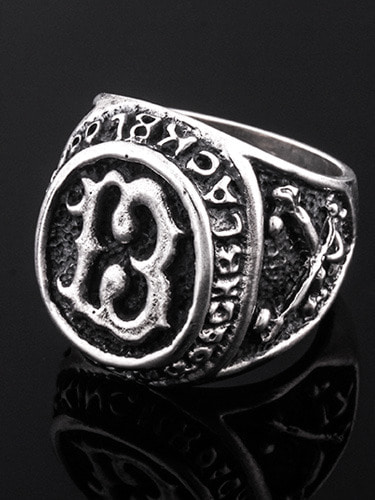 13 OFFICER RING