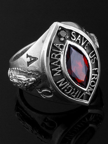 VIRGIN MARIA OFFICER RING