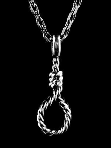 SUICIDAL HANG ROPE PENDANT