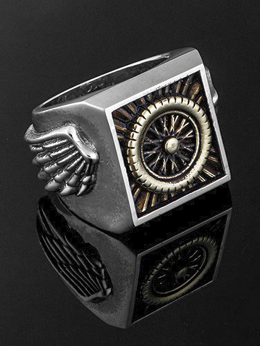 GULL WING RING
