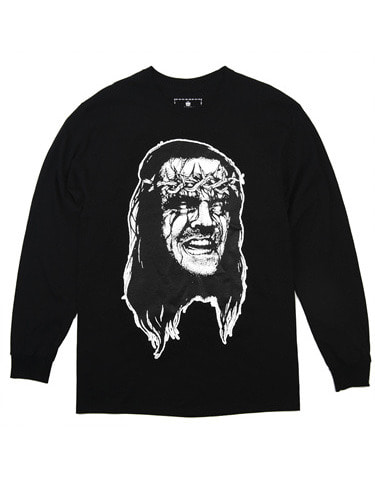 LAUGHING JESUS L/S TEE