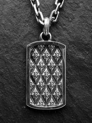 13 ARGYLE DOG TAG