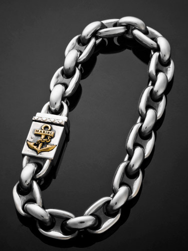 ANCHOR MARINE CHAIN BRACELET