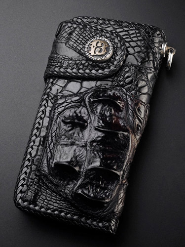 crocodile long wallet 01