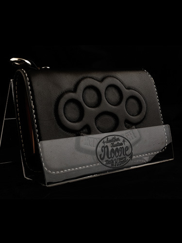 KNUCKLE MID LEATHER WALLET