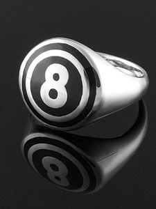SIMPLE 8 BALL RING