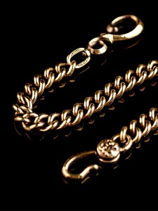 13 F HOLE WALLET CHAIN