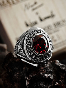 NUDEBONES OFFICER RING